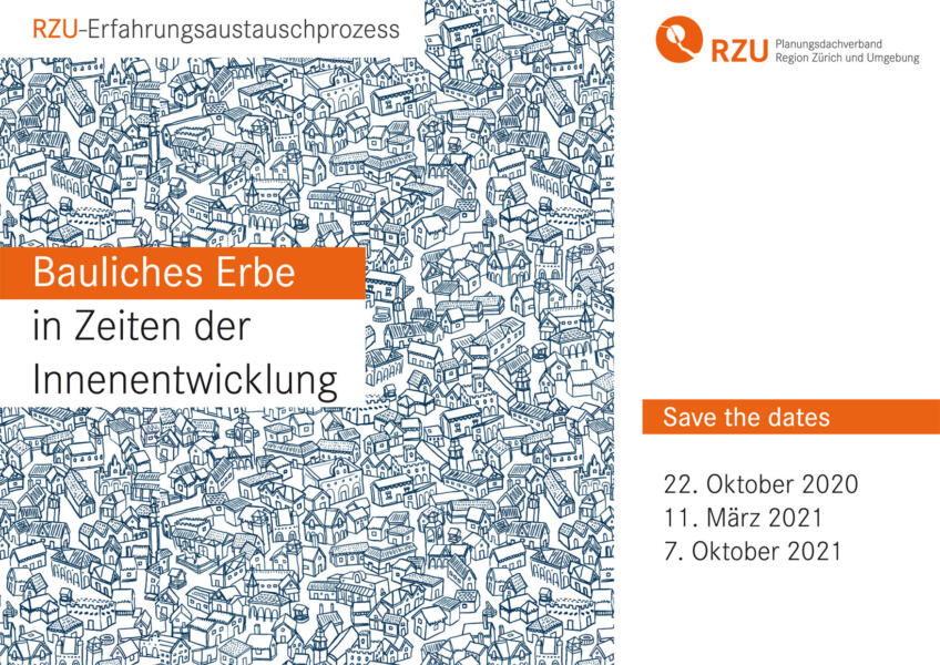 Erfa Bauliches Erbe: Save the dates 2020/21